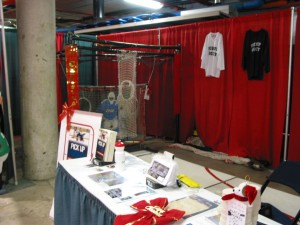 Display Booth Left View